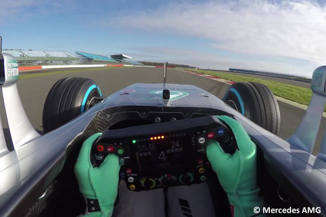 Nico Rosberg - Onnobard- F1 - Mercedes W07