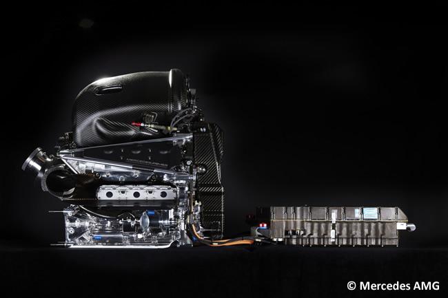 Mercedes AMG - F1 - W07 - 2016 - Unidad de Potencia
