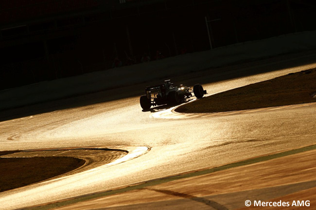 Mercedes - F1 W07