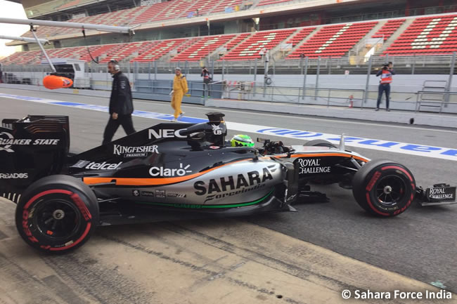 Nico Hulkenberg - Sahara Force India - VJM09
