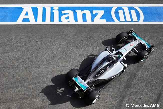 Nico Rosberg - Mercedes F1 - W07