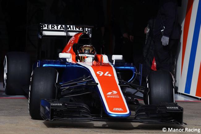 Pascal Wehrlein - Manor - 2016
