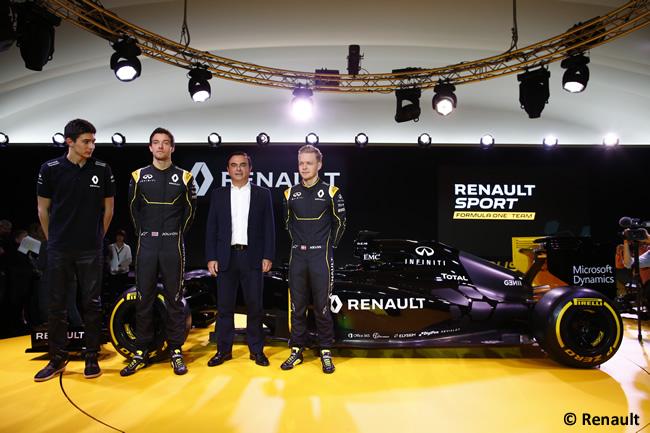 Presentación RS16 - Renault 2016
