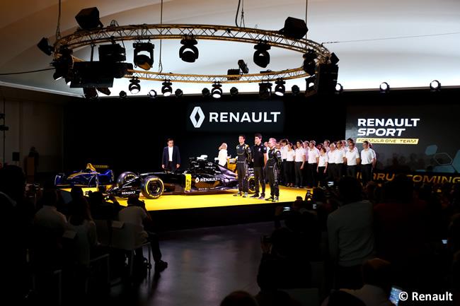 Presentación Renault - RS16 - Temporada 2016