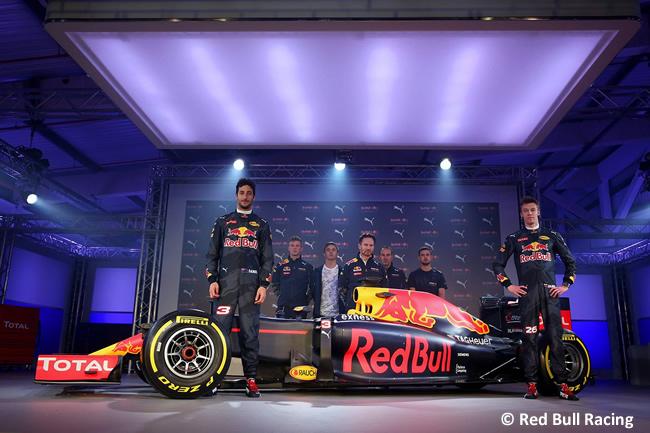 Red Bull Racing - Presentación RB12 2016