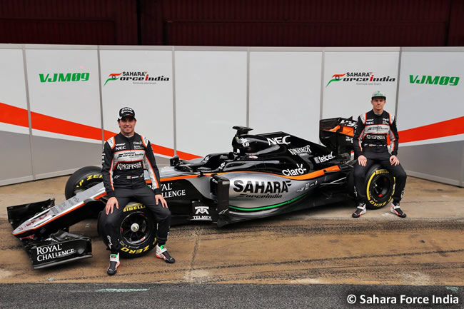 Sahara Force India - VJM09