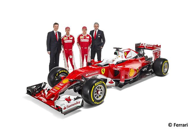 Scuderia Ferrari - SF16-H - Monoplaza 2016 - Sebastian Vettel - Kimi Raikkonen - Maurizio Arrivabene