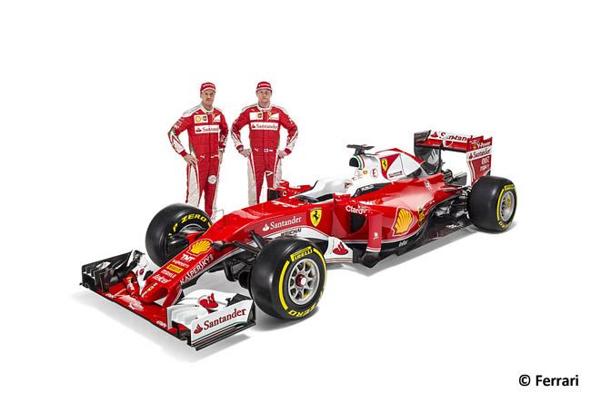 Scuderia Ferrari - SF16-H - Monoplaza 2016 - Sebastian Vettel - Kimi Raikkonen