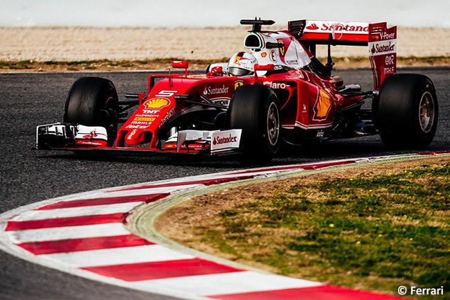 Sebastian Vettel - Scuderia Ferrari - SF16-H - 2016