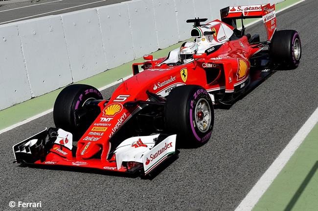 Sebastian Vettel - Scuderia Ferrari - SF16-H