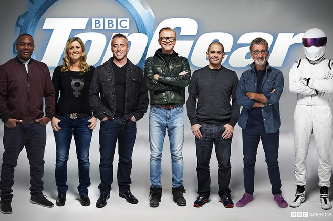 Equipo Top Gear 2016
