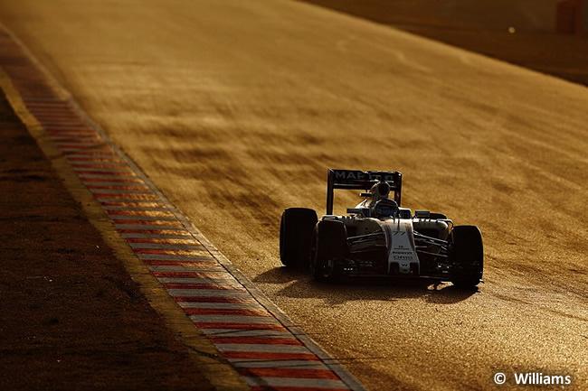 Valtteri Bottas Williams FW38