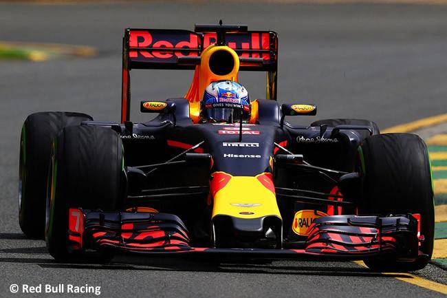 Daniel Ricciardo - Red Bull Racing - Entrenamientos Australia 2016