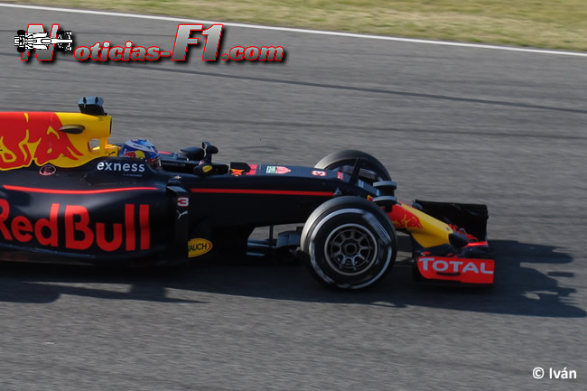 Daniel Ricciardo - Red Bull Racing - RB12 - www.noticias-f1.com
