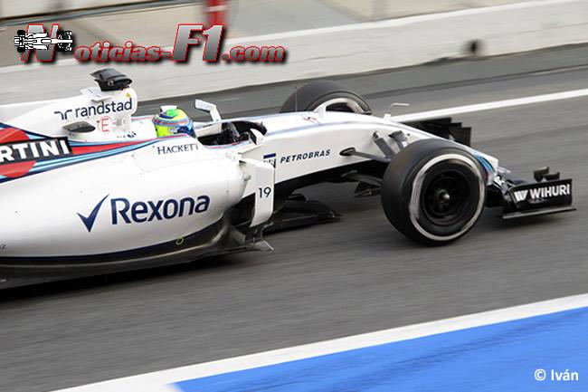 Felipe Massa - Williams - FW38 - www.noticias-f1.com