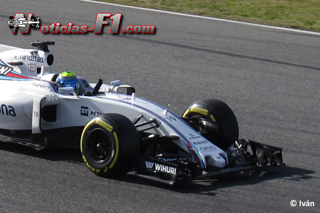 Felipe Massa - Williams - FW38 - www.noticias-f1.com