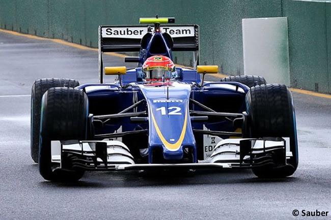 Entrenamientos GP Australia 2016 - Felipe Nasr - Sauber