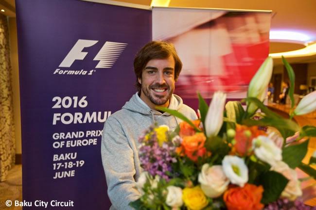 Fernando Alonso - Bakú