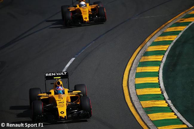 Jolyon Palmer - Kevin Magnussen - Renault - RS16 - GP Australia 2016