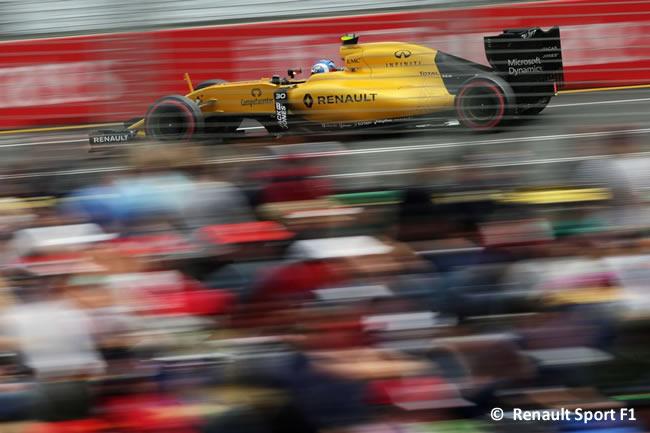 Jolyon Palmer - Renault - Calificación GP Australia 2016