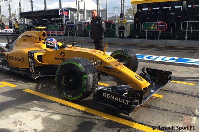 Jolyon Palmer - Renault Sport F1 - Entrenamientos Libres - Gran Premio de Australia 2016