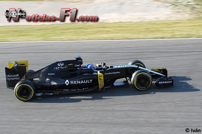 Jolyon Palmer - Renault - RS16