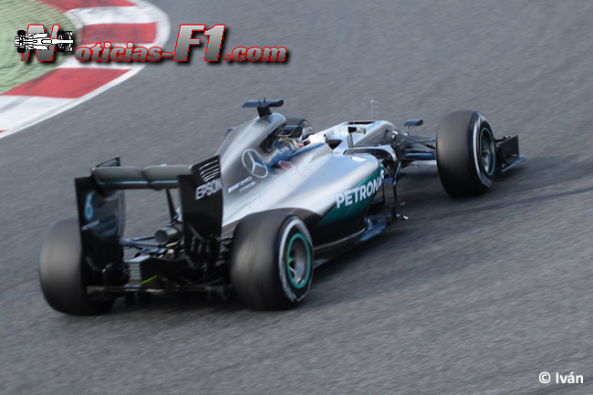 Lewis Hamilton - Mercedes AMG - F1 W07 - www.noticias-f1.com