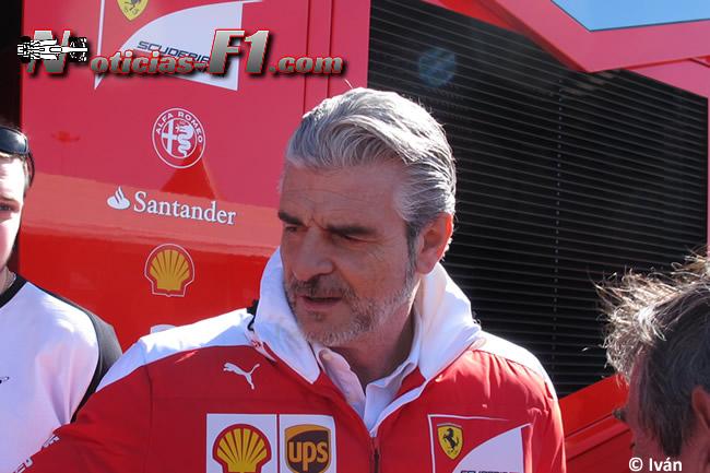 Maurizio Arrivabene - Scuderia Ferrari - www.noticias-f1.com