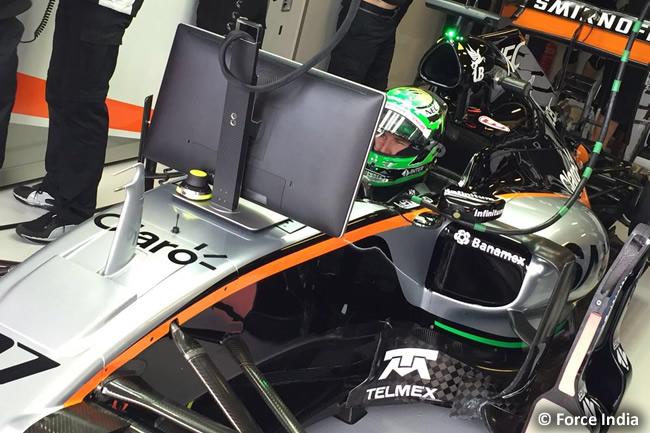 Nico Hulkenberg - Force India - Entrenamientos Australia 2016