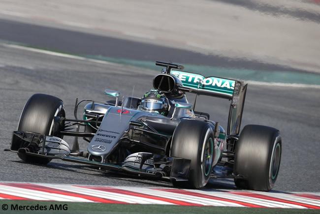 Nico Rosberg - Mercedes F1 W07