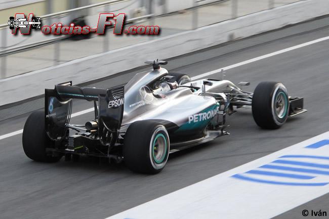 Nico Rosberg - Mercedes AMG F1 W07 - www.noticias-f1.com