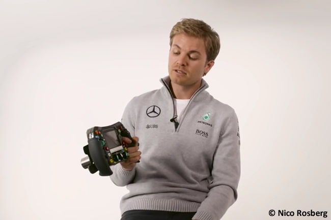 Nico Rosberg - Video volante 2016