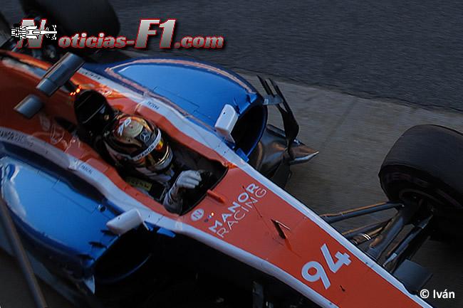 Pascal Wehrlein - Manor Racing - MRT05 - www.noticias-f1.com
