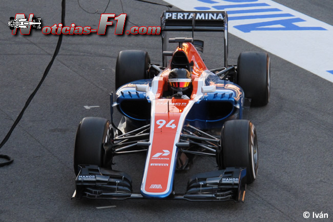 Pascal Wehrlein - Manor Racing - MRT05 - www.noticias-f1.com