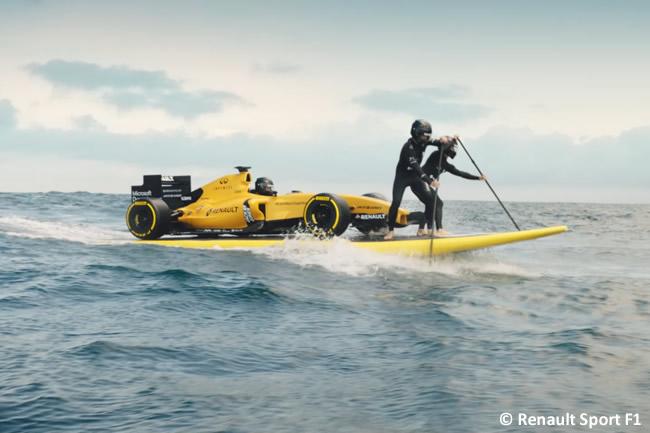 Renault Sport F1 - Video Presentación Decoracion RS16 - 2016