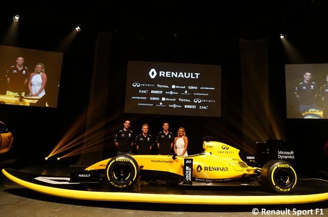Renault Sport - RS16 - Presentación 2016