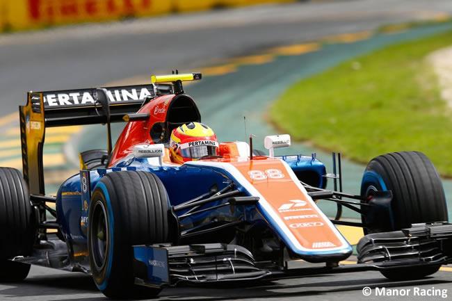 Rio Haryanto - Manor Racing - Entrenamientos - GP Australia 2016
