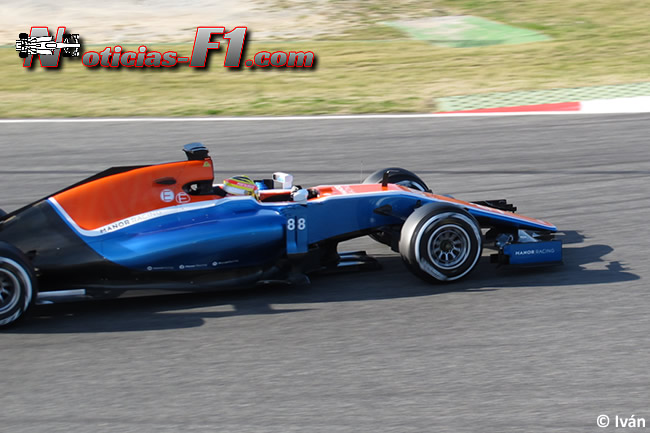Rio Haryanto - Manor Racing - MRT05 - www.noticias-f1.com