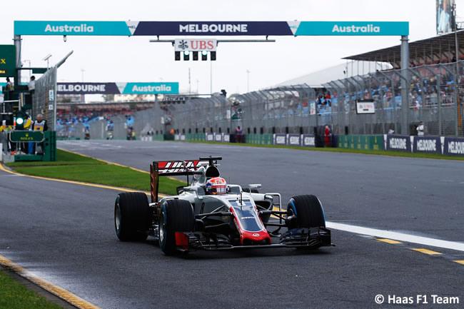 Romain Grosjean - Haas F1 Team - GP Australia 2016