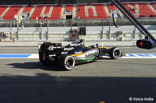 Sergio Pérez - Force India - VJM09