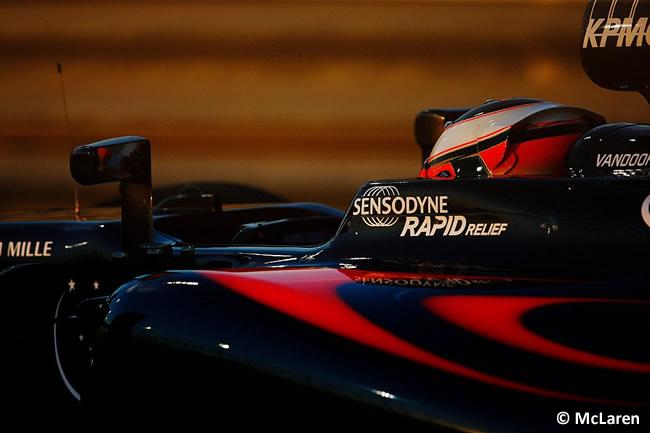 Stoffel Vandoorne - McLaren - Gran Premio Bahréin 2016