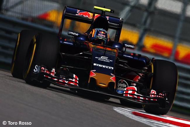 Carlos Sainz - Toro Rosso - Gran Premio de Rusia 2016 - Entrenamientos