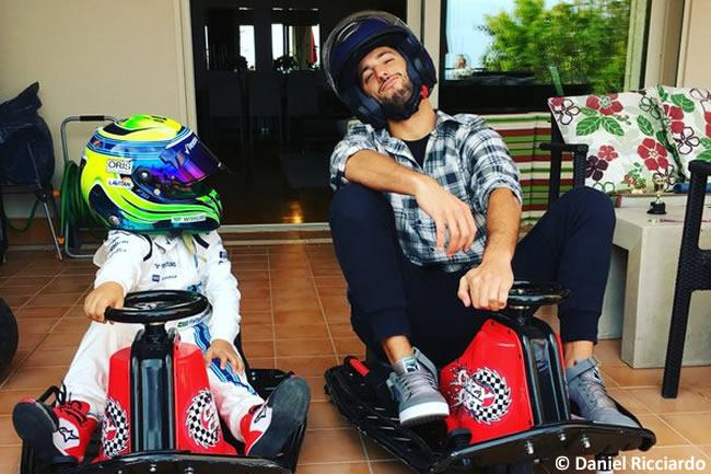 Daniel Ricciardo - Felipinho Massa