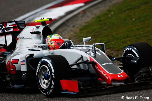 Esteban Gutiérrez - Haas F1 Team - Entrenamientos - GP China 2016