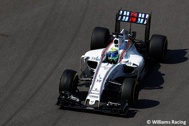 Felipe Massa - Willliams - GP Rusia 2016 - Entrenamientos
