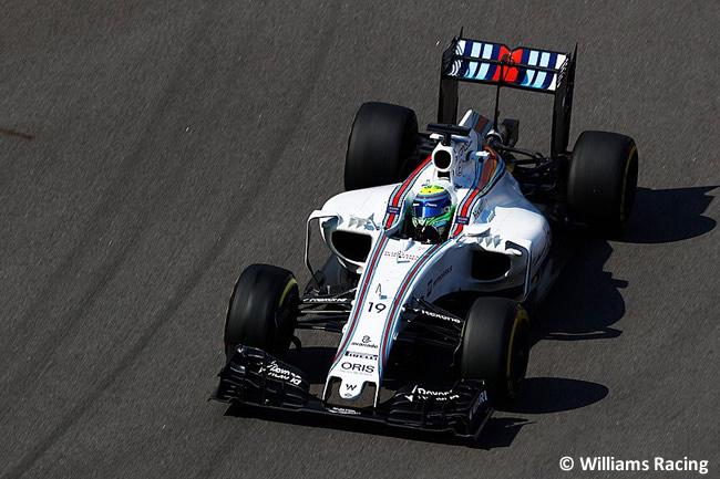 Felipe Massa - Willliams - GP Rusia 2016 - Entrenamientos