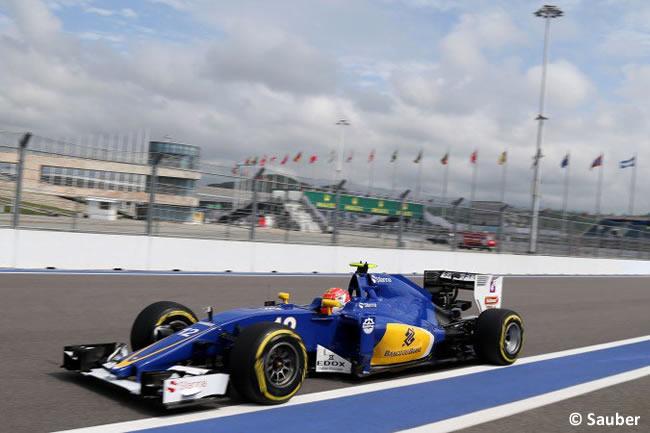 Felipe Nasr - Sauber - GP Rusia 2016 - Entrenamientos
