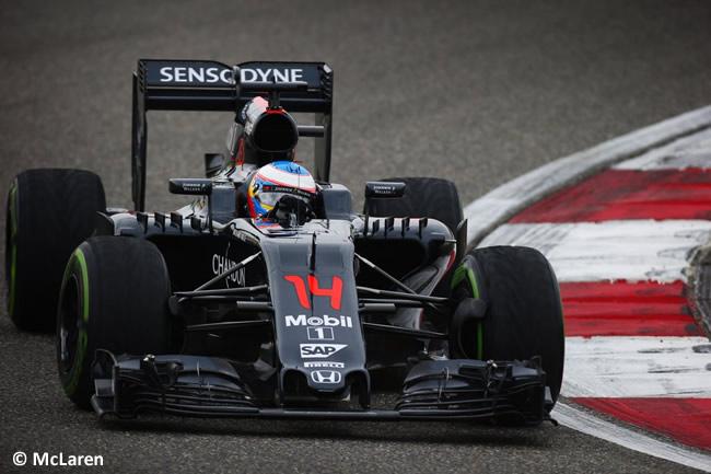 Fernando Alonso - McLaren - GP China 2016 - Calificación