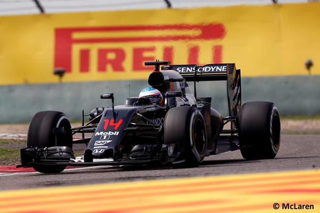 Fernando Alonso - McLaren - GP China Shanghái 2016