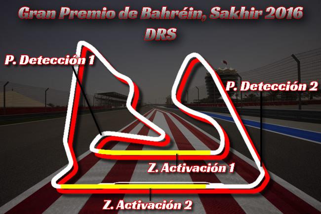 DRS - Gran Premio de Bahréin 2016